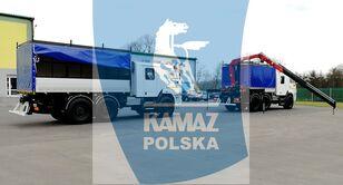 jauns KAMAZ 6x6 SERWISOWO-WARSZTATOWY militāra kravas mašīna
