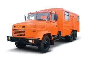 jauns KRAZ 65053 мастерская  militāra kravas mašīna