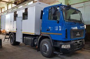 jauns MAZ 5340 militāra kravas mašīna