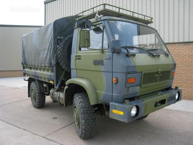 MAN 8.136 militāra kravas mašīna