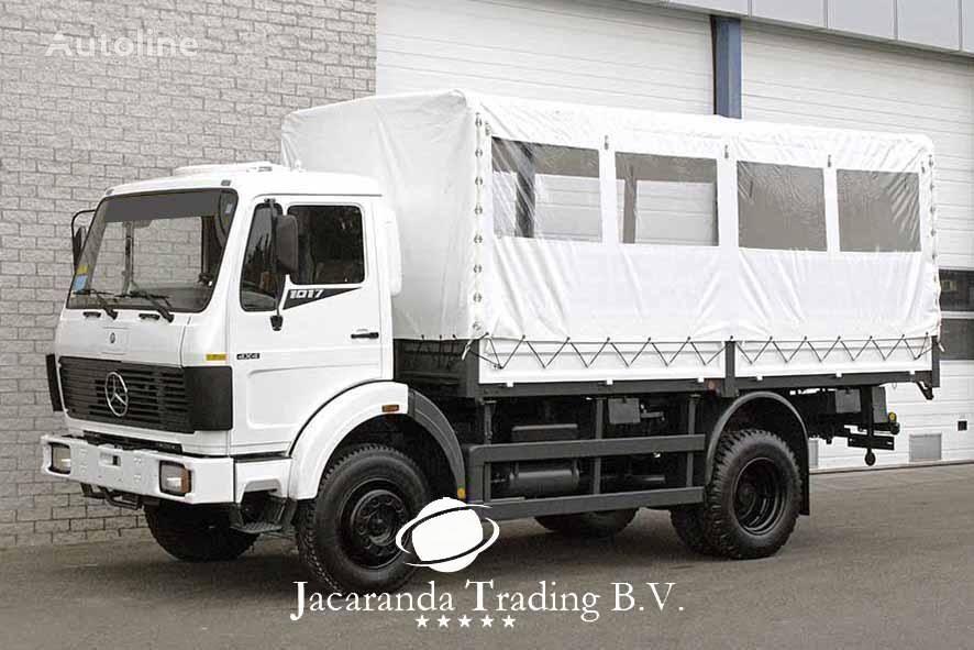 MERCEDES-BENZ 1017 militāra kravas mašīna
