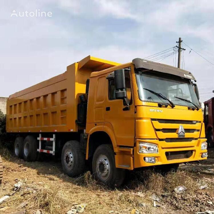 HOWO 4*8 dump truck pašizgāzējs