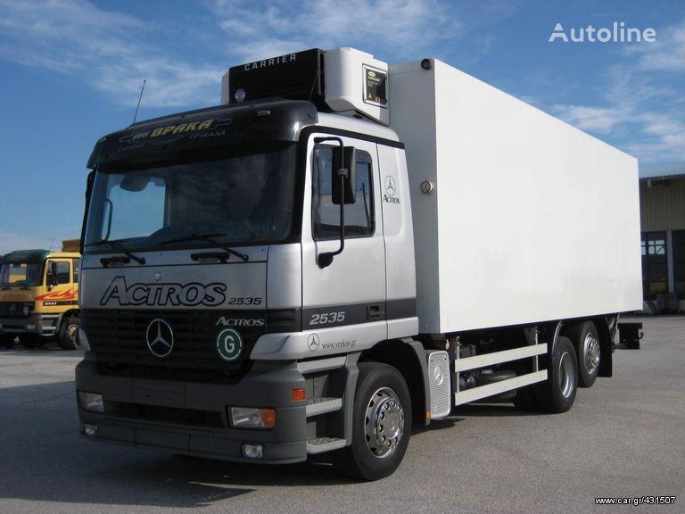 MERCEDES-BENZ 2535 L ACTROS refrižerātors kravas automašīna