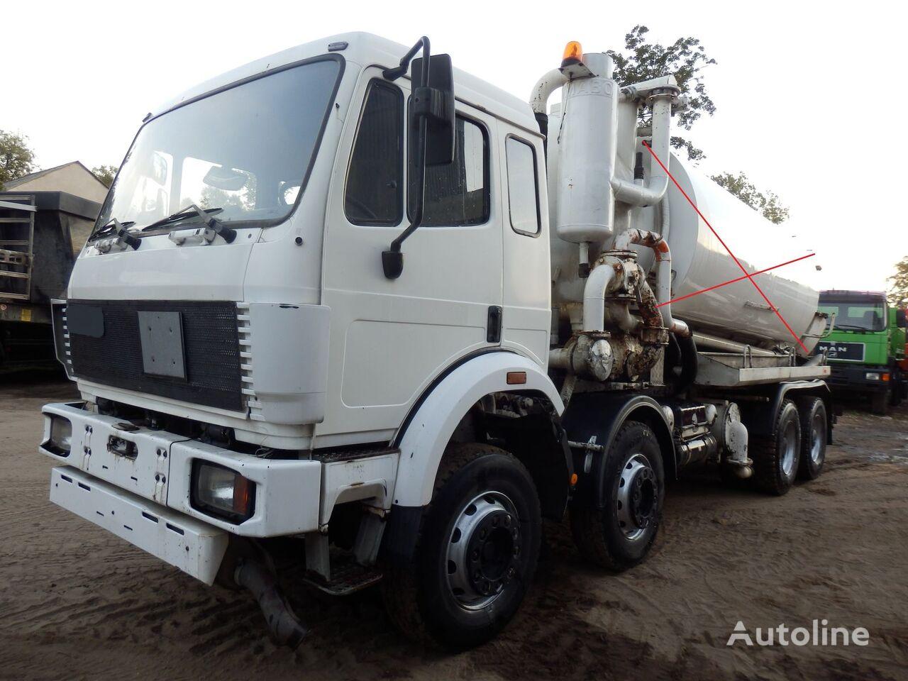MERCEDES-BENZ SK 3229 V8 8x4 FULL SPRING šasija kravas automašīna