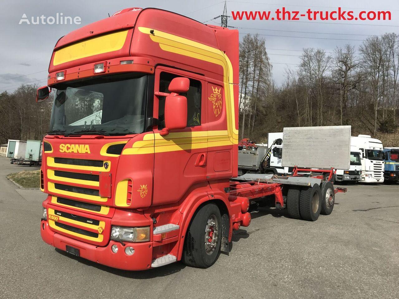 SCANIA R500 LB šasija kravas automašīna