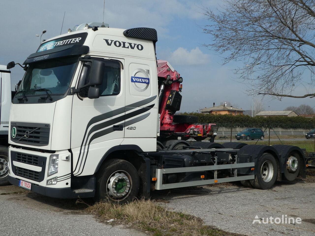 VOLVO FH 420 XL 6x2 šasija kravas automašīna