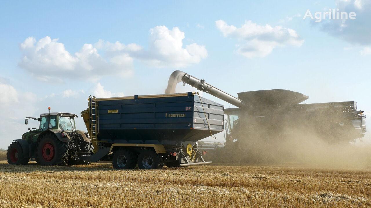 jauns EGRITECH BNP-30 graudu pārkraušanas piekabe