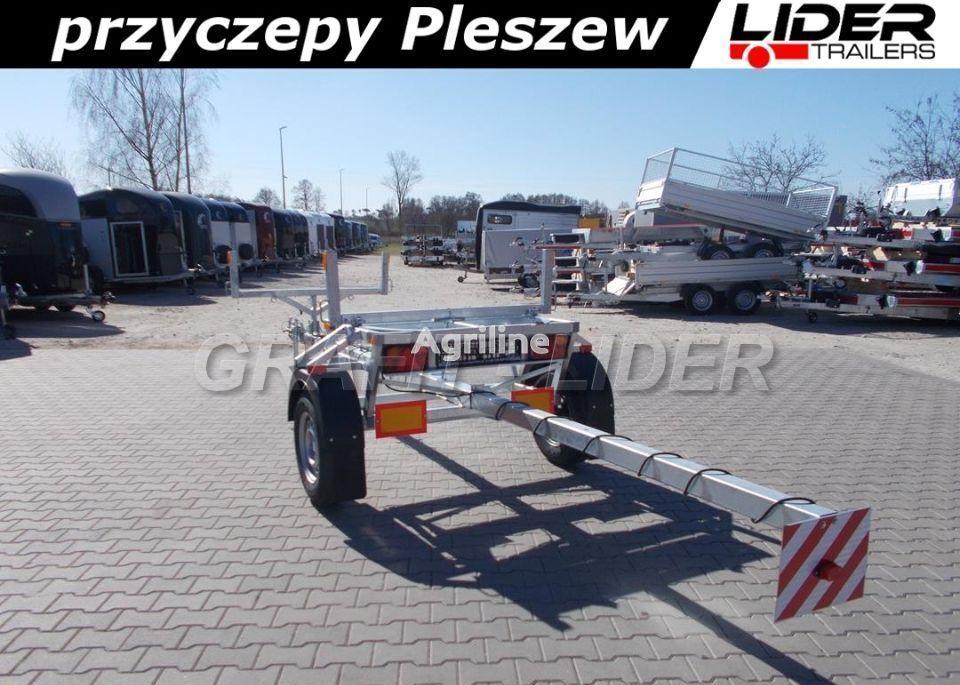 jauna lider-trailers LT-046  labības pļaujmašīnas ratiņi
