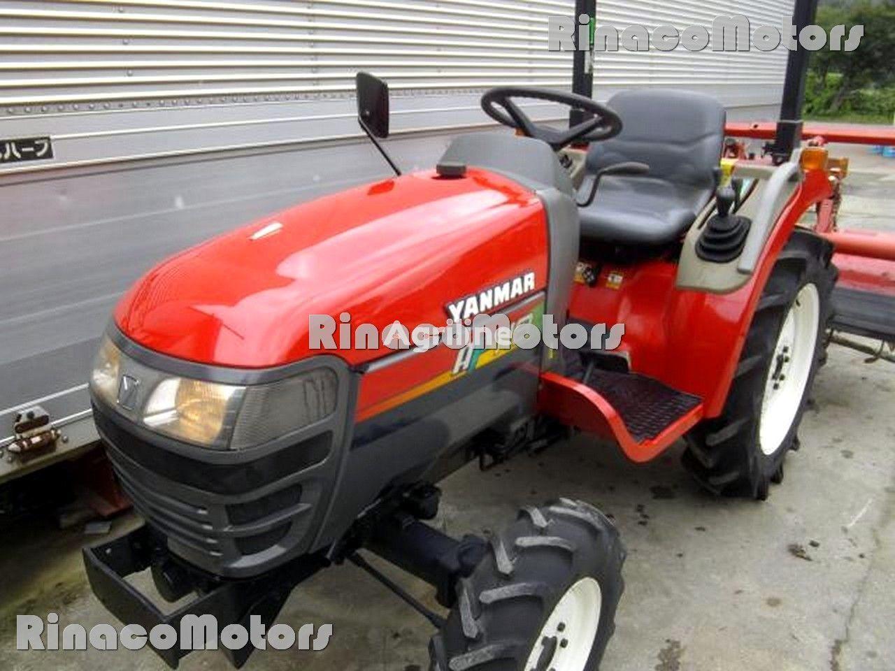 YANMAR AF118DT mini traktors