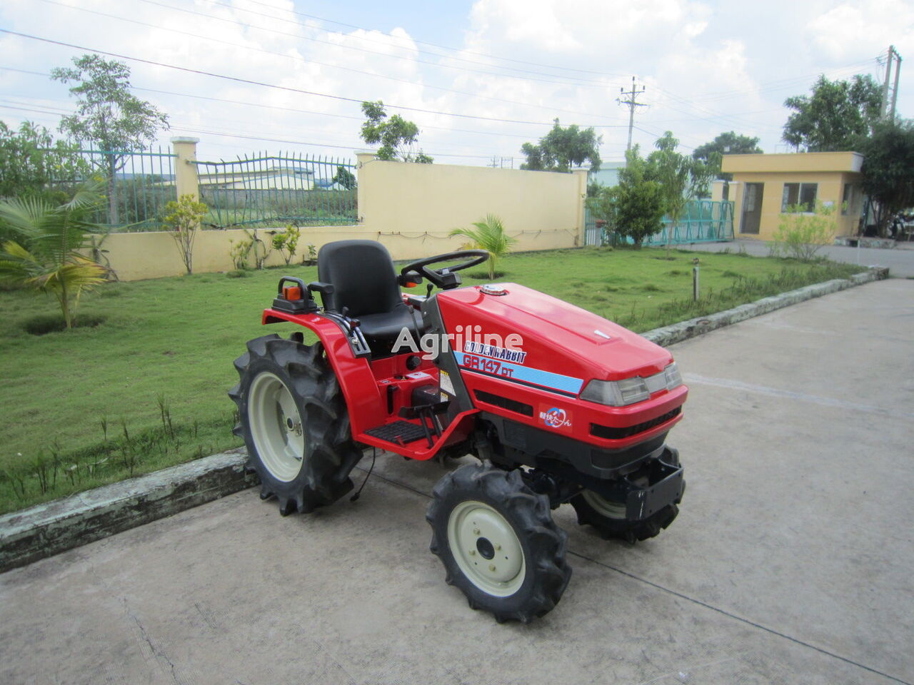 YANMAR GR147DT mini traktors