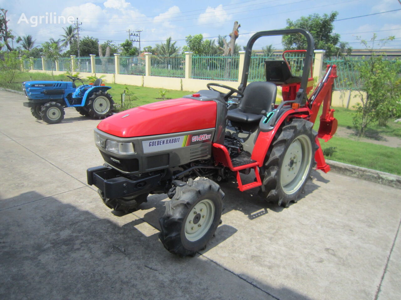 YANMAR GR210DT mini traktors