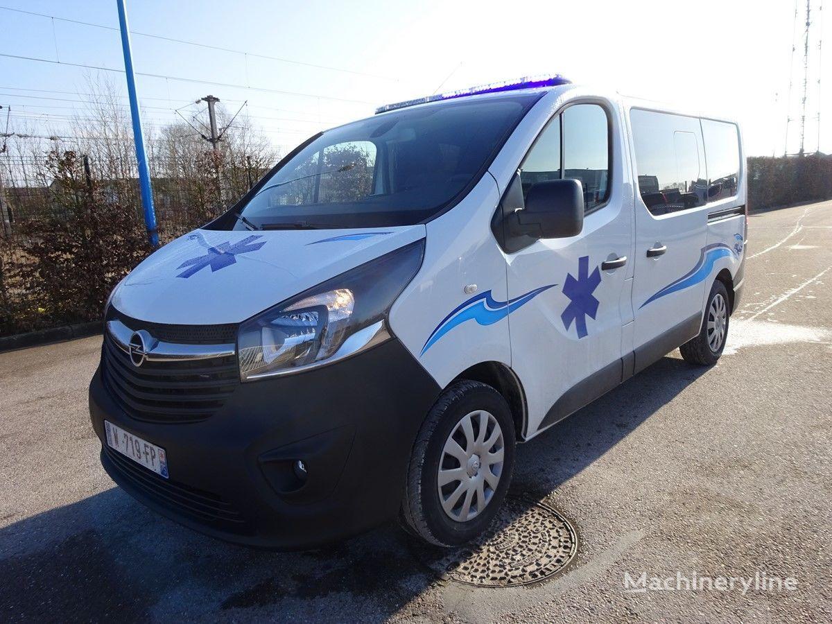 jauns OPEL VIVARO L1H1 120 CV 2018 mikroautobuss ātrās palīdzības mašīna