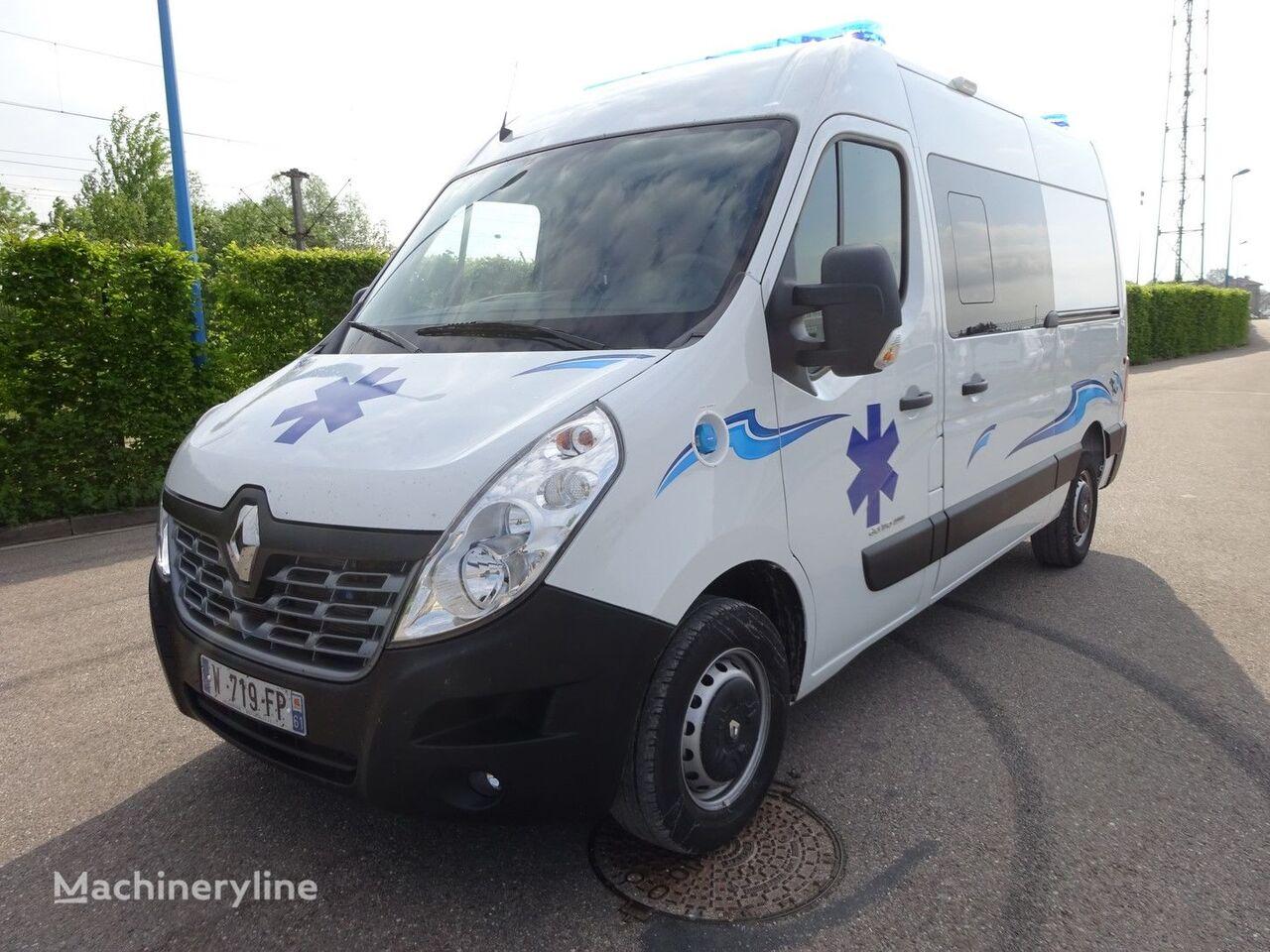 jauns RENAULT RENAULT MASTER L2H2 170 CV 2018 mikroautobuss ātrās palīdzības mašīna