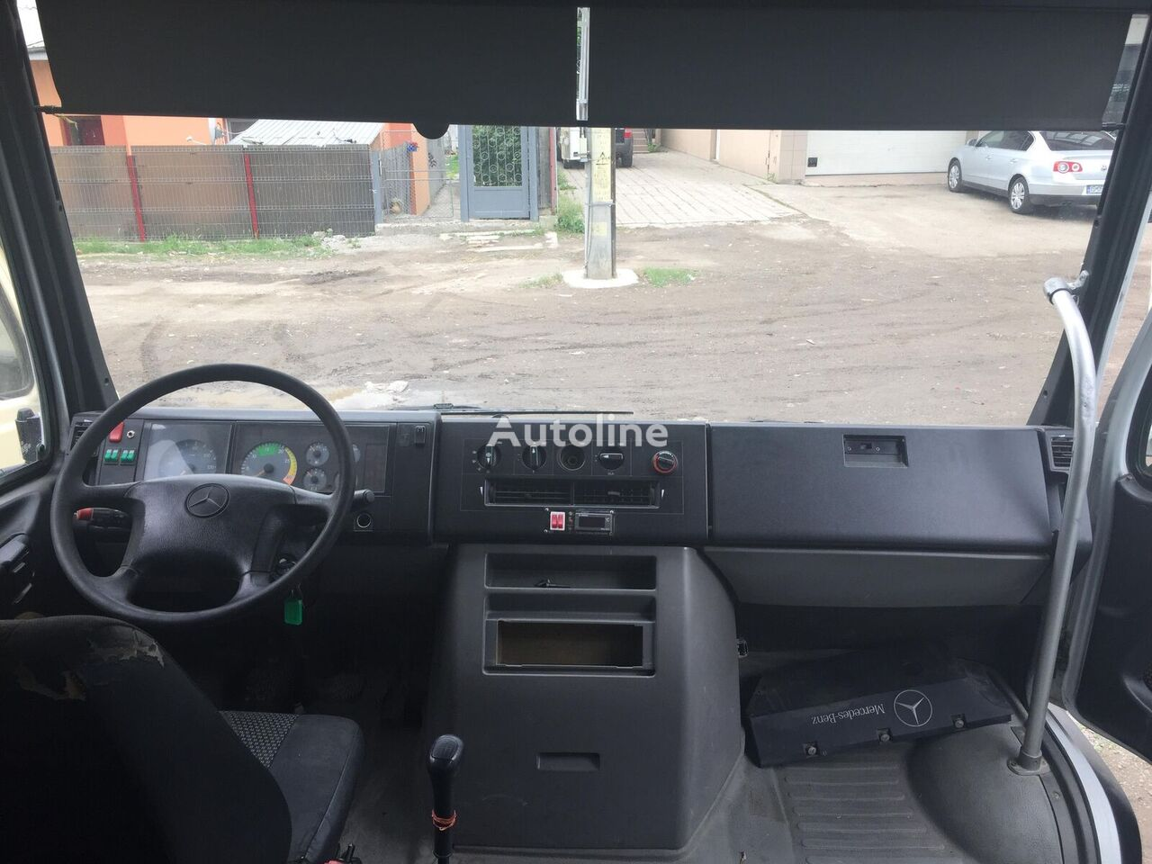 MERCEDES-BENZ Vario mikroautobuss pasažieru
