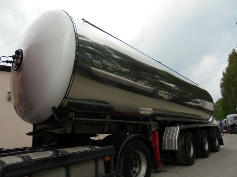 MAGYAR pārtikas kravu pārvadāšanas cisterna
