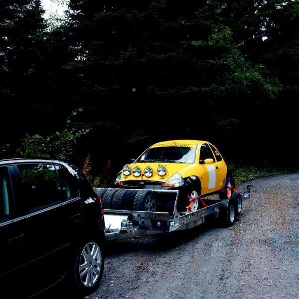 Ifor Williams CT136 auto vedējs piekabe