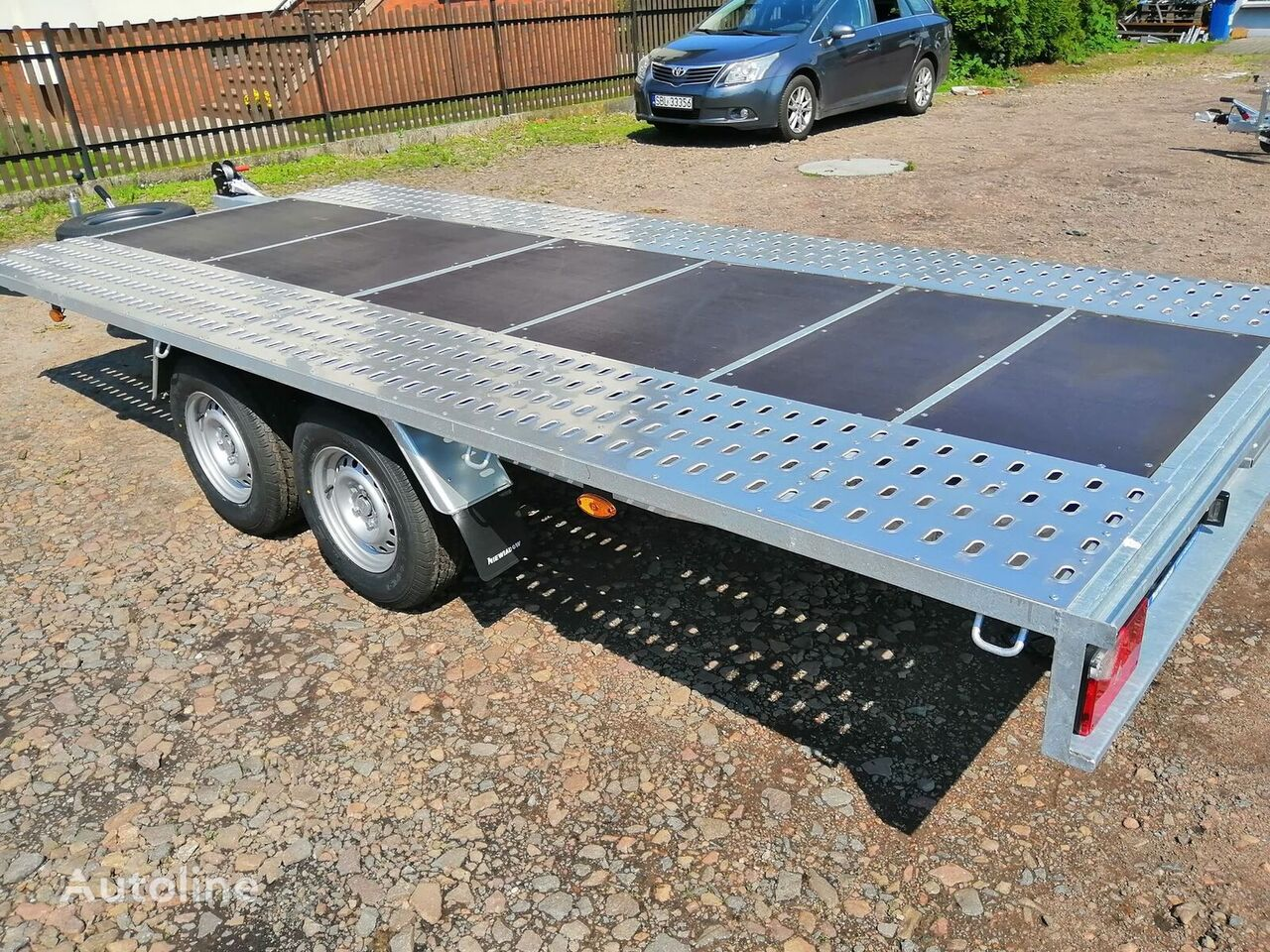 jauns NIEWIADOW Mars + plywood Poland Boro  auto vedējs piekabe
