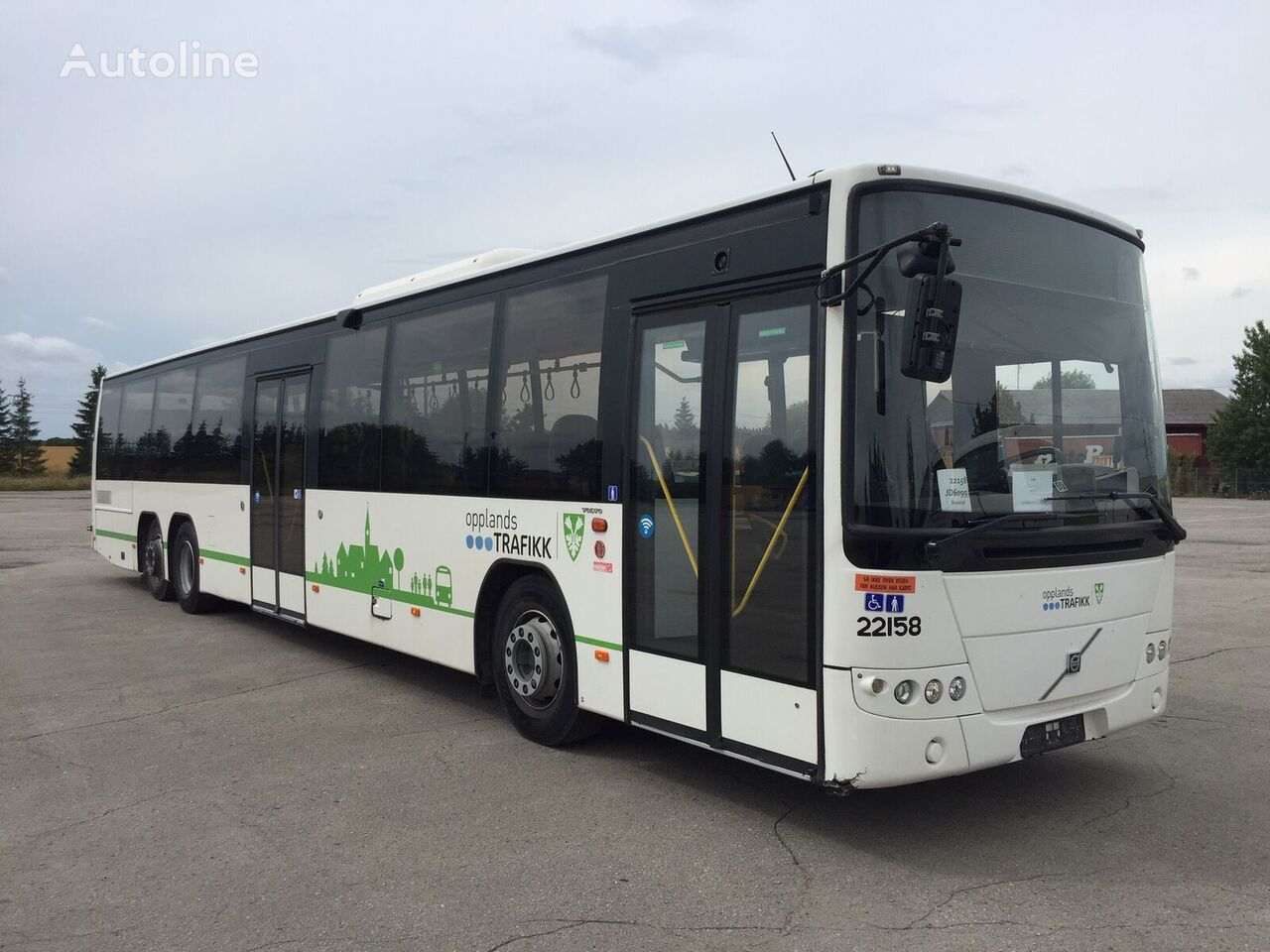 VOLVO 8700 pilsētas autobuss