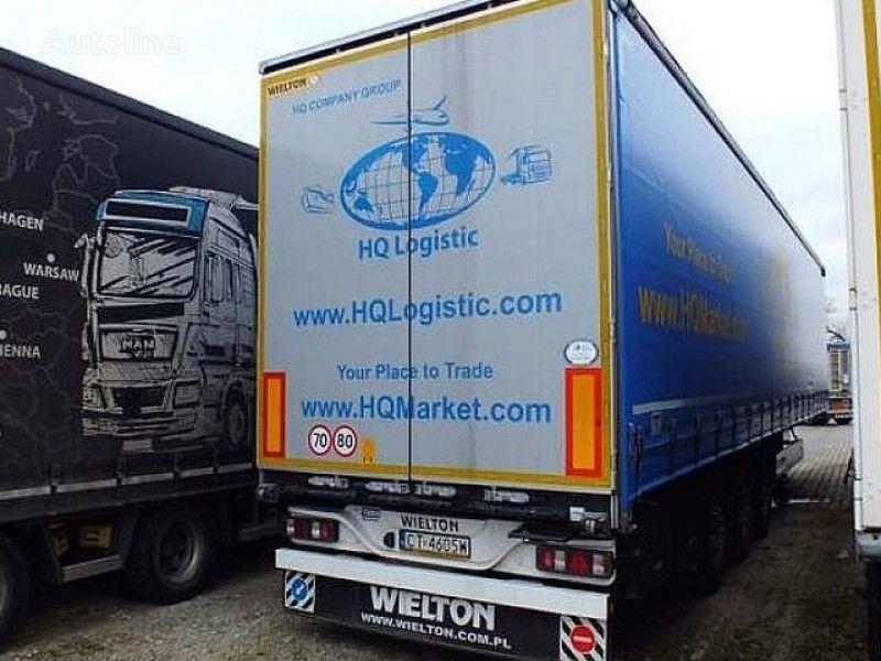 WIELTON NS-3 K - Curtain semi-trailer aizkaru tipa puspiekabe