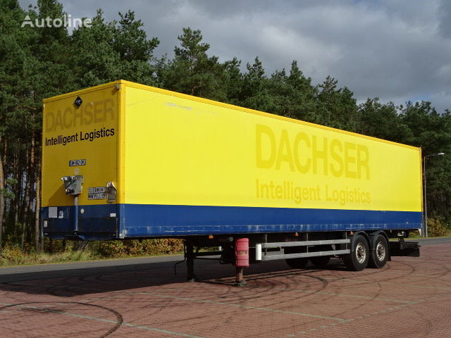 SAMRO DOPELSTOCK  furgons puspiekabe