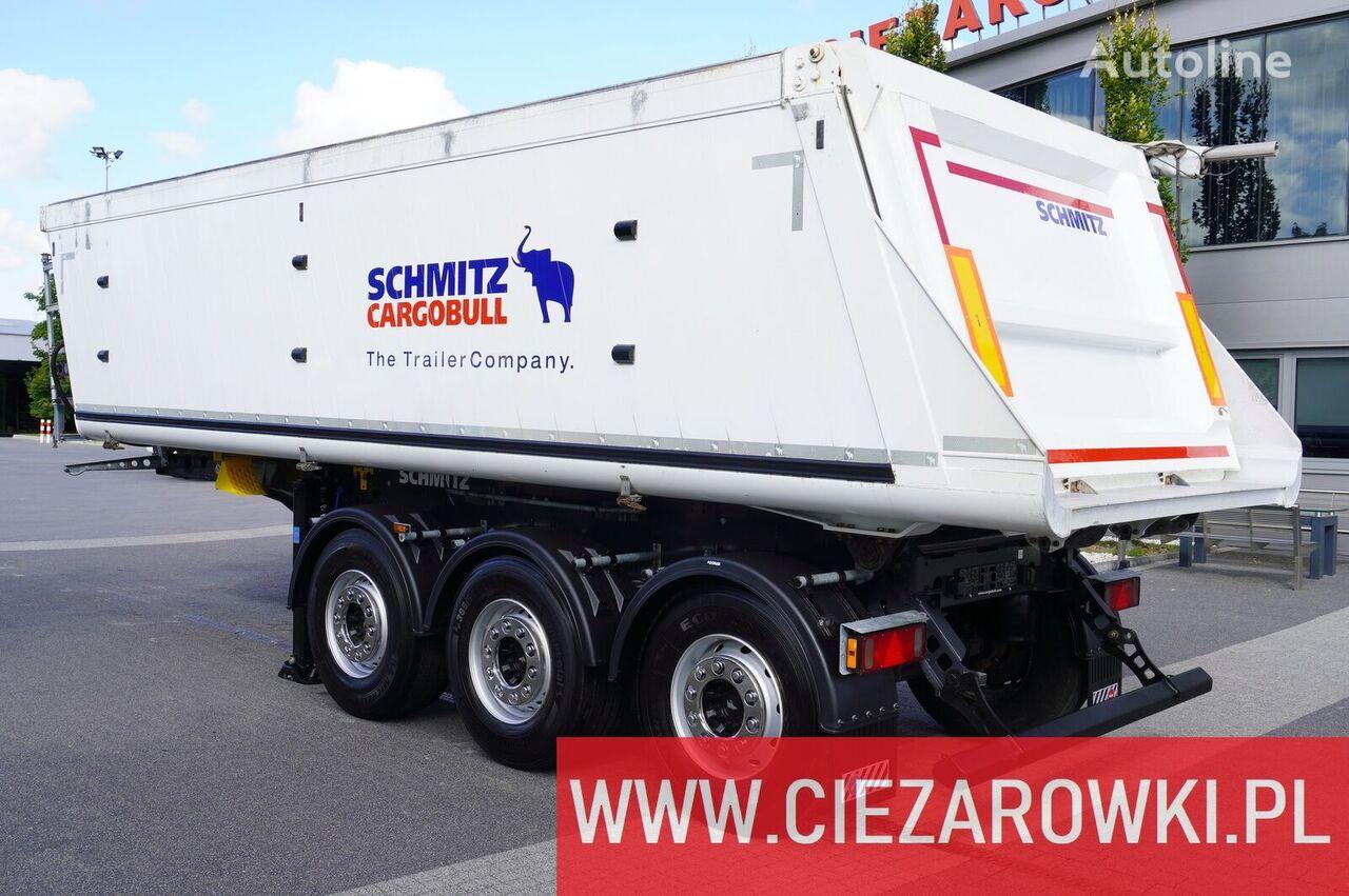 SCHMITZ CARGOBULL Gotha SGF-S3 , 29m3 , lift axle , 2019, LIKE NEW  pašizgāzējs puspiekabe