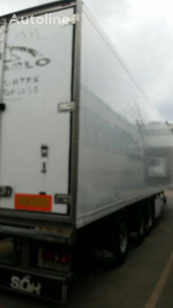 SOR BITEMPERATURA /TRIDEC refrižerātors puspiekabe