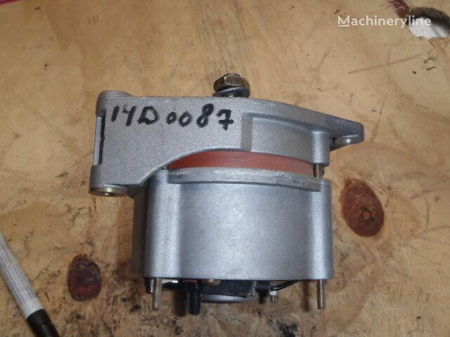 alternator paredzēts ekskavatora