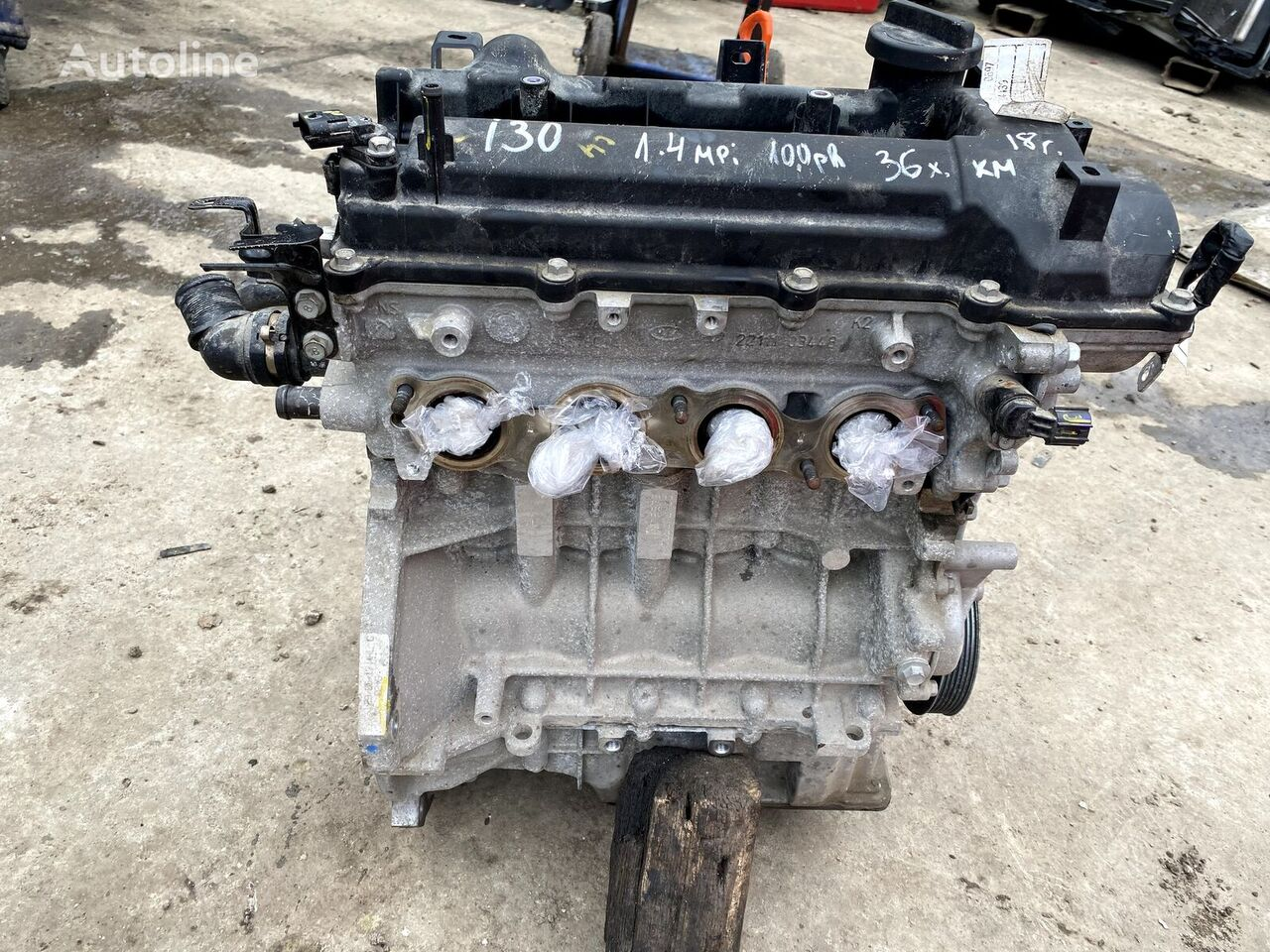 HYUNDAI I 30, 1.4MPI, G4LC (1.4 MPI) dzinējs paredzēts HYUNDAI I 30 viegla automobiļa