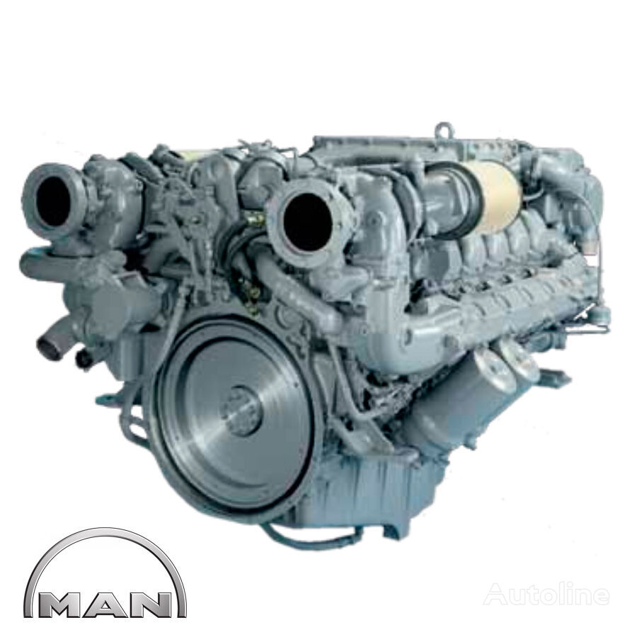 jauns MAN MARINE V12-1580 D2842 LE409 dzinējs paredzēts MAN kempera