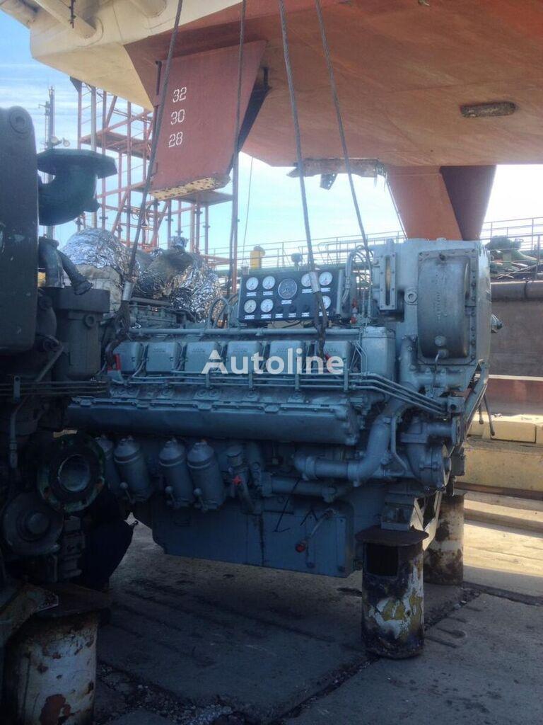 MAN MTU MARINE 12V396 TC82 dzinējs paredzēts MAN kempera