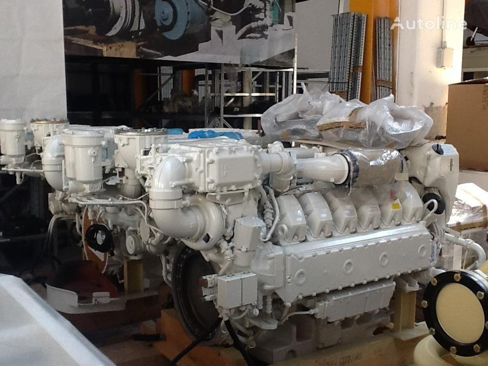 jauns MAN V12-1800 MARINE dzinējs paredzēts MAN D2862LE433 kempera