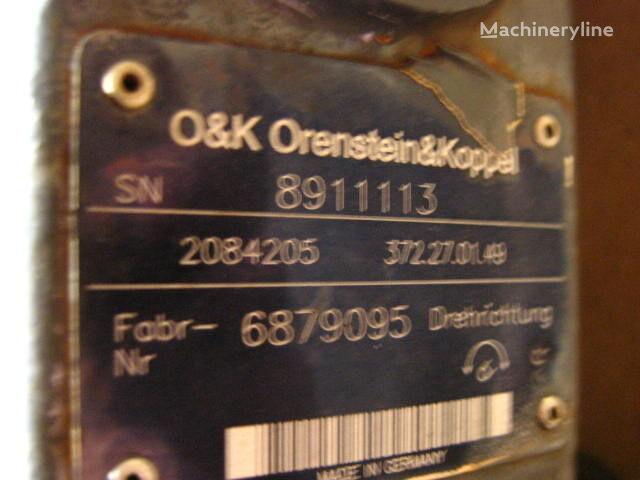 jauns O&K 2084205 (372.27.01.49) hidromotors paredzēts ekskavatora