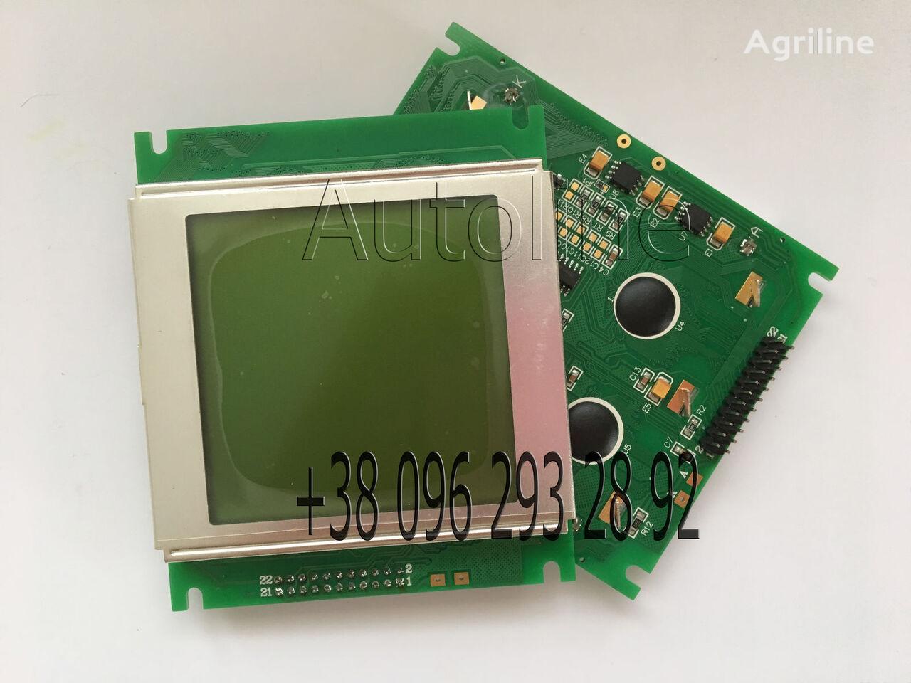 jauns Ekran dlya SM300, SM400, Challenger 8186 monitors paredzēts MASSEY FERGUSON MF-555 mehāniskās sējmašīnas