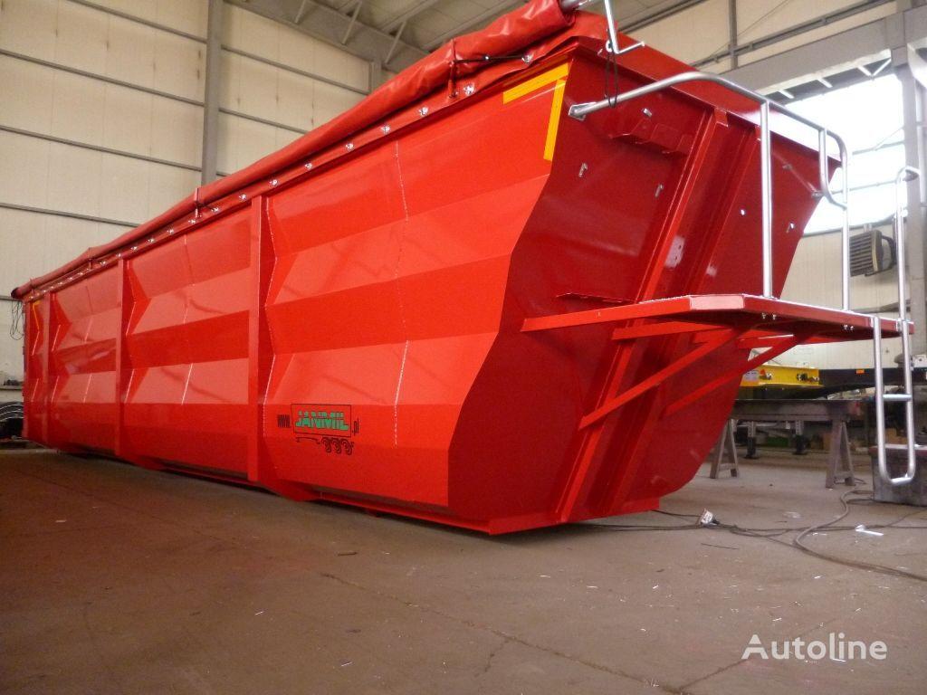 jauns JANMIL 50m³ Hardox 450 - new box to your chassis ! Schmitz, Wielton, Be pašizgāzēja sistēma paredzēts JANMIL skrzynia do zlomu  puspiekabes