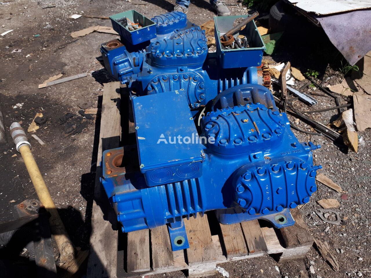 BITZER pneimatiskais kompresors paredzēts Bitzer dzesēšanas iekārtas