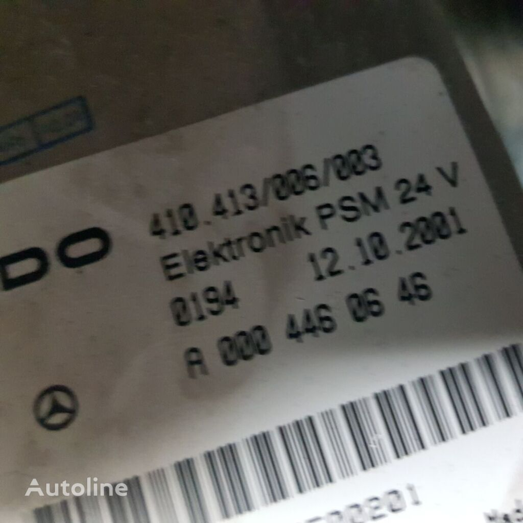 MERCEDES-BENZ PSM control unit, ECU, EDC electronics vadības bloks paredzēts MERCEDES-BENZ Actros, Atego vilcēja