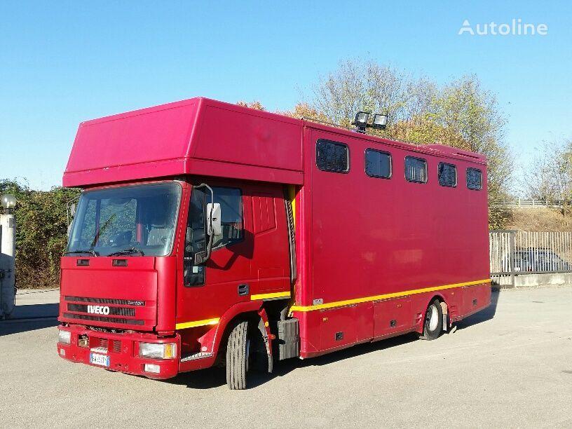 IVECO EUROCARGO 90E18P CAVALLI RAMPA POST+LATERALE zirgu vedējs